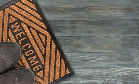 showcase interiors: Doormat.