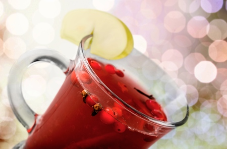 punch spice: Wine. Stock Photo