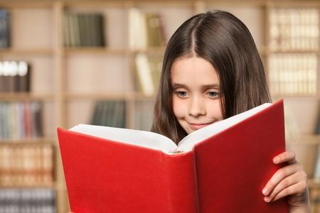 child reading: Child.