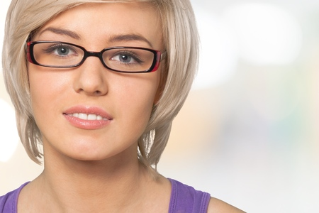 one person only: Glasses.