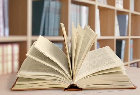 biblioteca: Libro. Foto de archivo