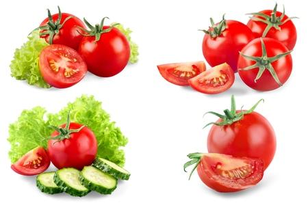 cantle: Tomato. Stock Photo