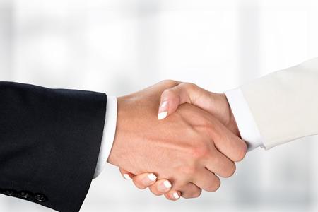 Handshake. 写真素材