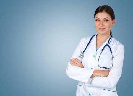healthcare worker: Doctor.