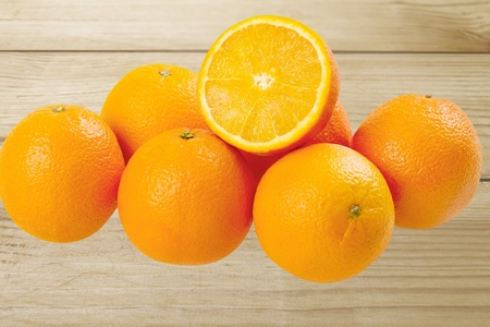 medium group of objects: Orange. Stock Photo
