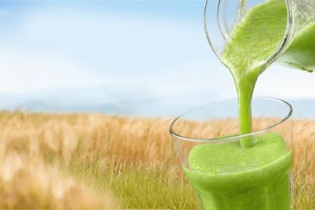 squeeze: Green. Stock Photo