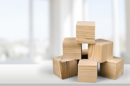 wood blocks: Block.