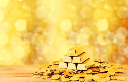 gold ingot: Gold.