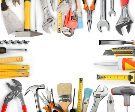 work: Work Tool. Stock Photo