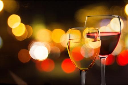 copa de vino: Vino.  Foto de archivo