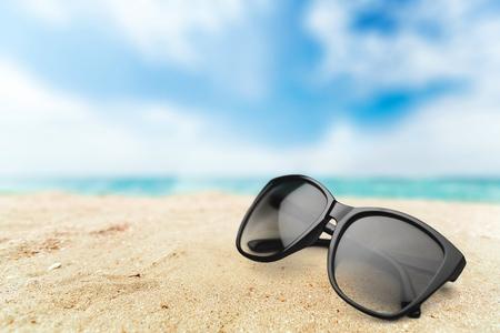 beach view: Sunglasses.