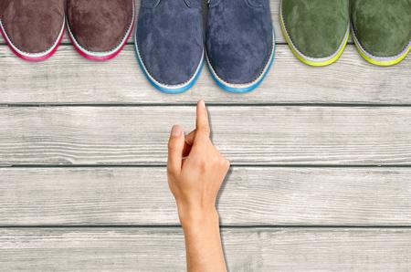 brogue: Shoe. Stock Photo