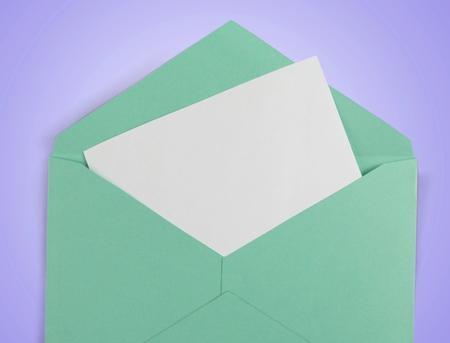 letter envelopes: Invitation.