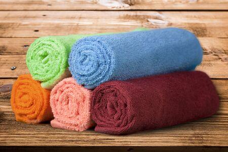 descriptive color: Towel.
