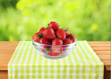 small group of objects: Strawberry.