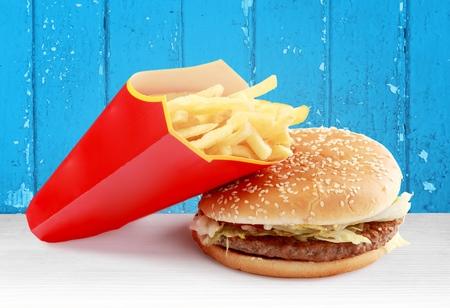 comida rápida: Comida r�pida.