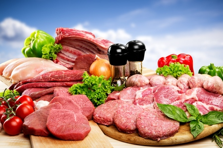pork meat: Meat.