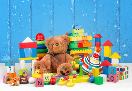 kindergarten toys: Toy. Stock Photo