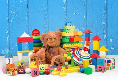 kindergarten toys: Toy. Stock Photo