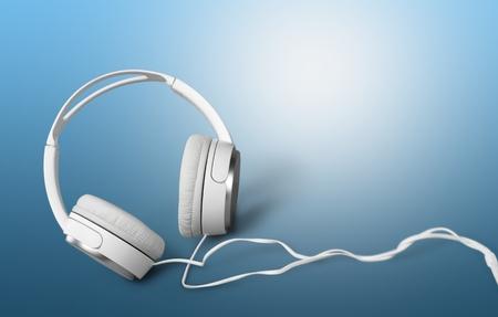 auriculares: Auriculares. Foto de archivo