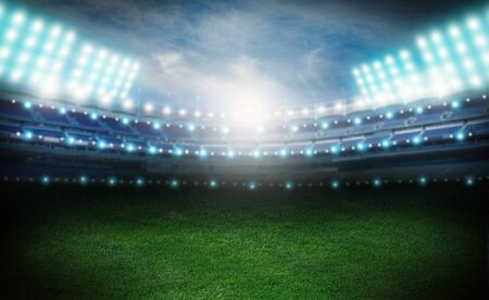 futbol soccer: Estadio.