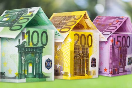 commercial real estate: European Union Currency.