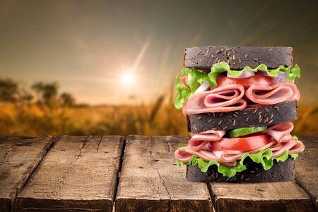 picada: Sandwich.
