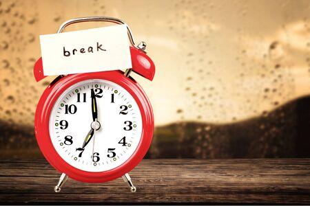 break: Break.