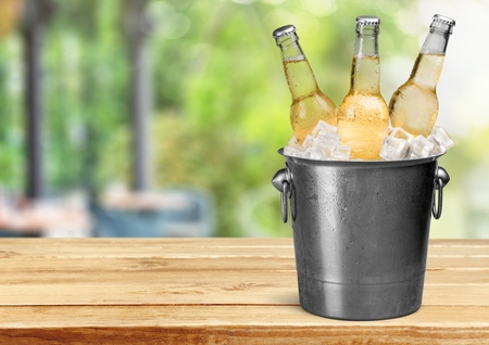 beer bucket: Beer Bottle.