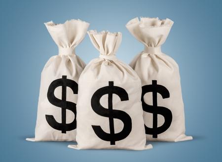 signo pesos: Bolsa de dinero.