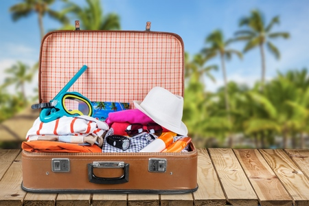 summer holiday: Icon. Stock Photo