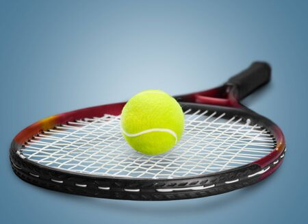 tennis racket: Tennis Racket. Stock Photo