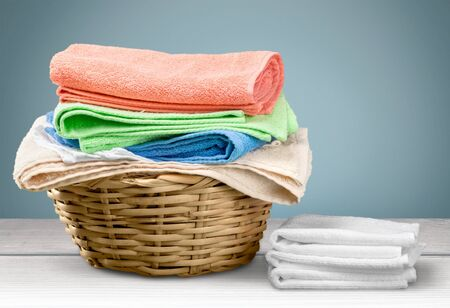 basket: Laundry.