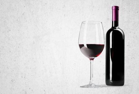 bottle of vine: Wine Bottle. Stock Photo