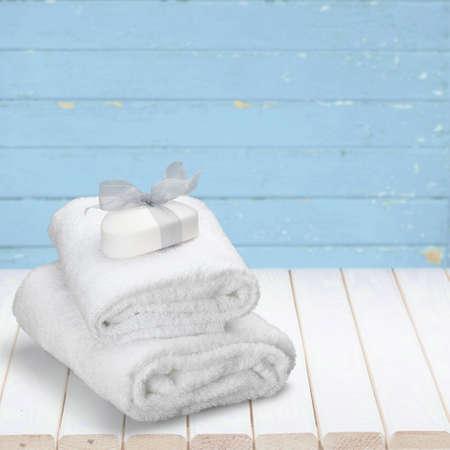 grooming product: Towel.