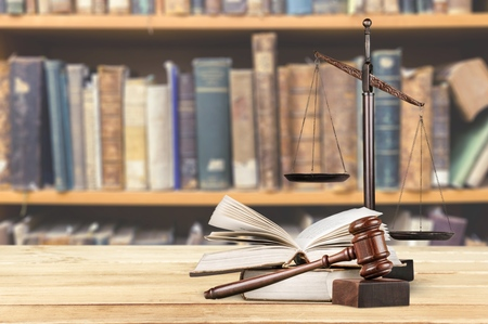 abogado: Ley. Foto de archivo