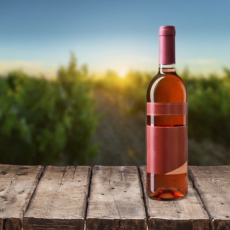 consumable: Wine Bottle. Stock Photo