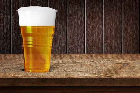 foam safe: Beer.