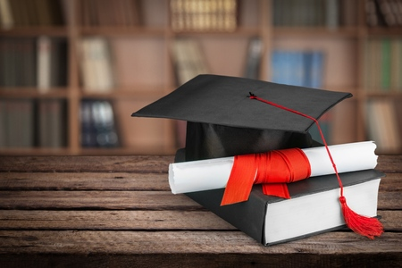 caps: Graduación.