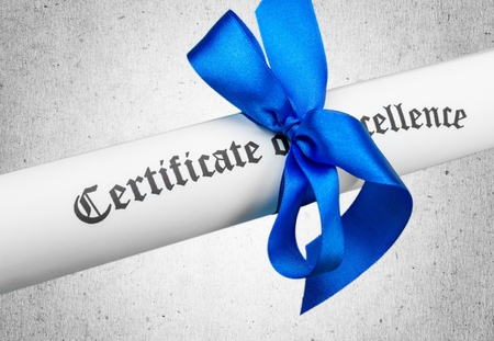 credential: Certificate.
