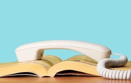 Telephone Directory. Stock Photo