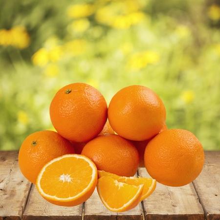 fruit background: Orange. Stock Photo