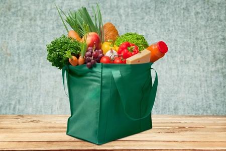 pastry bag: Groceries.