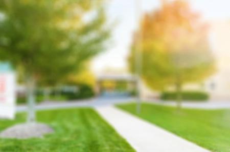 大学。 写真素材
