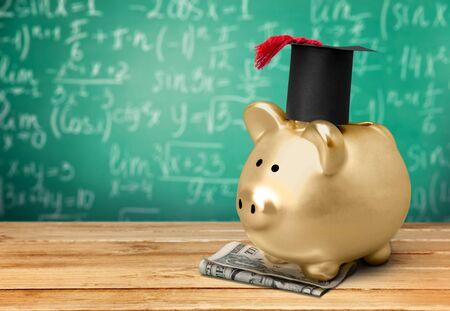 cost of education: University. Stock Photo