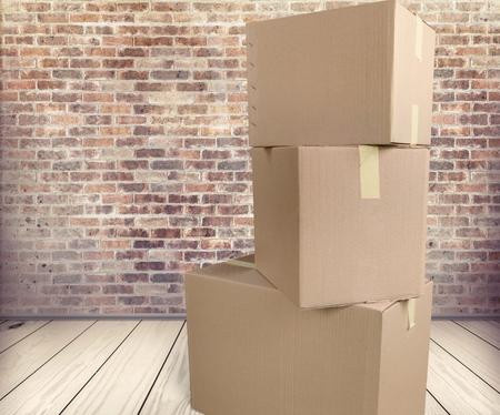 boite carton: Bo�te en carton.