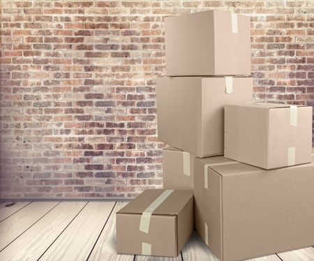 out of the box: Box. Stock Photo