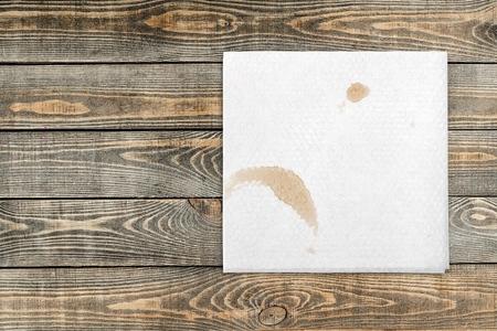 filiżanka kawy: Serwetka.