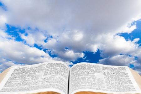 cielos abiertos: Biblia.