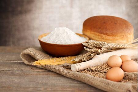 cultivo de trigo: Wheat.